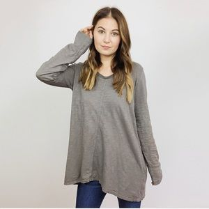 Anthropologie Long Sleeve Tunic Top